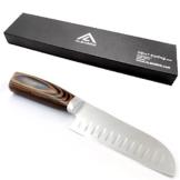 ALBARGO - Chef-Kochmesser, das edle Multifunktionskochmesser- Küchenmesser - Allzweckmesser - Profiküchenmesser mit vielseitigen Einsatzmöglichkeiten inklusive Geschenkverpackung -