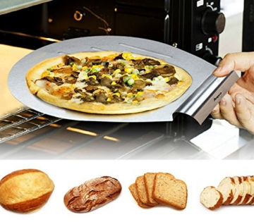 Anpro Kuchen Retter, Torten Heber und Streichpalette Konditorenmesser, Kuchen Heber von 31.5 x 26cm, Streichmesser von 29.7x2.4cm -