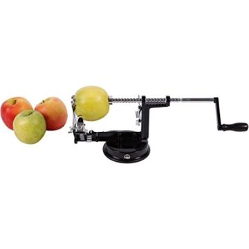 Apfelschäler, Apfelentkerner und Apfelschneider - 3 in 1 Profimaschine - 10 Jahre Garantie! - Precision Kitchenware -