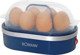 Bomann EK 5022 CB blau Eierkocher -