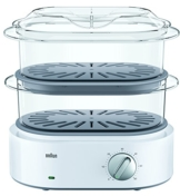 Braun FS 5100 Dampfgarer Identity Collection, weiß -