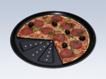 CHG 9776-46 Pizzabackblech, 2 Stück (d = 28 cm) -