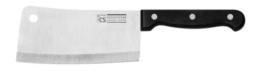 CS Kochsysteme 001285 Schneidwaren, Edelstahl, schwarz, 23 x 13,3 x 2,4 cm -