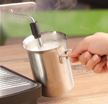 Cucina di Modena Aufschäum-Milchkännchen 0,3l aus Edelstahl -