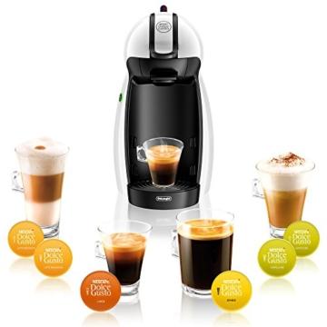 DeLonghi EDG 100.W Nescafé Dolce Gusto Piccolo Kaffeekapselmaschine (manuell) weiß -
