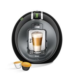 DeLonghi EDG 605.B Nescafé Dolce Gusto Circolo Kaffeekapselmaschine (1500 Watt, automatisch) schwarz -