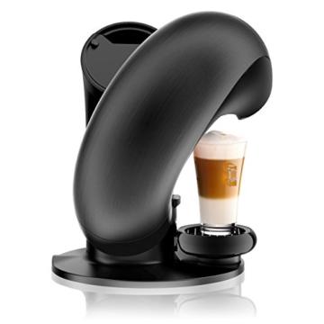 DeLonghi EDG 737.B Nescafé Dolce Gusto Eclipse Kaffeekapselmaschine brushed schwarz metal -