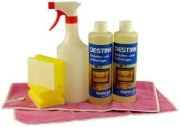 DESTINE POWER GEL-Set - Backofen- & Grillreiniger (2 x 500 ml + Zubehör) -