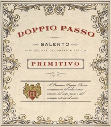 DoppioPassoSalento IGT Primitivo 2015 (6 x 0.75 l) -
