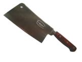 Dr. Richter chinesisches Kochmesser aus hochwertigem Spezialedelstahl (5cr15mov; HRC 56+/-1); Griff aus Pakkaholz,Hackmesser, Klingenlänge 18 cm -