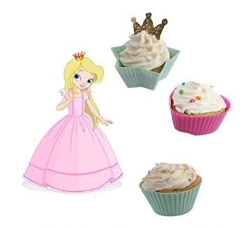 DRFUNDA 24 Stück Silikon Muffinform Muffinförmchen Backform Kuchenform für Muffins Brownies Cupcakes Kuchen Eis Pudding -