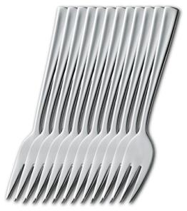 Esmeyer 204-049 12er Pack Kuchengabeln STOCKHOLM  aus Edelstahl 18/10,poliert.  Materialstärke 2.0mm -