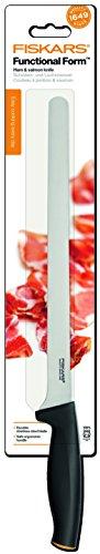 Fiskars 1014202 Schinken und Lachsmesser, 26 cm -