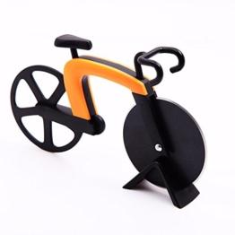 GA Homefavor Fahrrad Pizzaschneider , Klingen aus Rostfreiem Stahl mit Antihaft -Beschichtung -