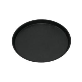 GRÄWE® Pizzablech rund 28 cm, stabile Profi-Qualität -