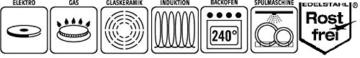 GSW 643160 Spargeltopf mit Einsatz und Glasdeckel, Edelstahl, silber, 16 cm, 2 Einheiten -