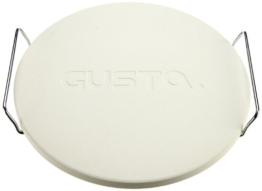 Gusta Trattoria Pizzastein mit Halterung, 33 cm -