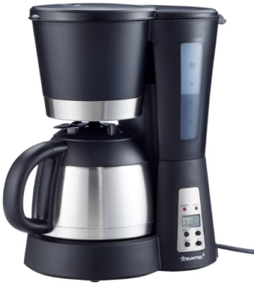 HOME Essentials - Kaffeemaschine KAM-9004 [Mit Timer-Programmierung + Anti-Tropf-Feature, Thermoskanne (1,0 l), max. 800 Watt] -