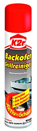 K2r Backofen-Grillreiniger Spray, 3er Pack (3 x 400 ml) -
