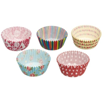 Kitchen Craft Sweetly Does It Muffin-Papierförmchen, 250 Stück sortiert -