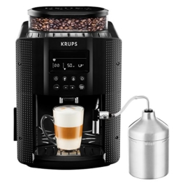 KRUPS EA8160 Kaffeevollautomat (1,8 l, 15 bar, LC Display, AutoCappuccino-System) schwarz -
