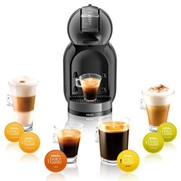 Krups KP 1208 Nescafé Dolce Gusto Mini Me Kaffeekapselmaschine (automatisch) anthrazit -