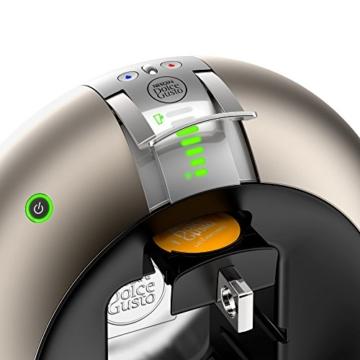 Krups KP 510T Nescafé Dolce Gusto Circolo Kaffeekapselmaschine (automatisch) titanium -