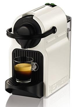 Krups Nespresso XN1001 Inissia Kaffeekapselmaschine (19 bar, inklusive Welcome Pack mit 16 Kapseln) weiß -