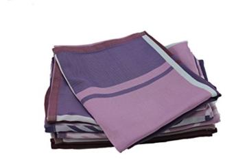 Küchenhandtuch-Geschirrhandtuch-Saugstark-Schnelltrocknend-50x70 (6er Pack, Lila) -