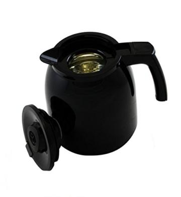 Melitta 1010-06 bk Easy Therm Kaffeefiltermaschine -Thermkanne -Tropfstopp -Schwenkfilter schwarz -
