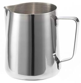 Milchkännchen / Aufschäumkännchen in Edelstahl Inhalt (350 ml - Standardmodell) -