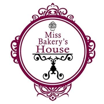 Miss Bakery's House | 50 Stück | Papierbackförmchen | Papierförmchen | Muffinförmchen | Liner | Cupcakeförmchen | Backförmchen | Cupcakeförmchen | Candy Bar | Hochzeit | Wedding | Dekoration | 100% Lebensmittelecht | Fettdicht | Standardgröße (Folie - Rot) -