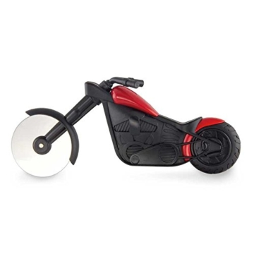Noki Pizza Chopper and Motobike Pizza Cutter -