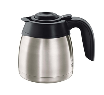 Philips HD7546/20 Gaia Filter-Kaffeemaschine mit Thermo-Kanne, schwarz/metall -