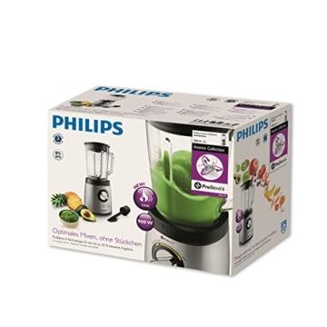 Philips HR2195/08 Standmixer mit 21.000 U/min, 900W, für Smoothies und Milchshakes -