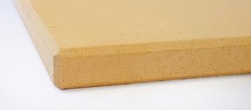 Pizzastein / Brotbackstein / Flammkuchenplatte aus Schamotte für Backofen und Grill -
