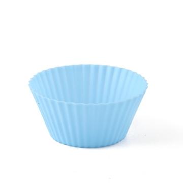 Premium Silikon Muffinförmchen von Insonder - 24 Cupcake Brownie Muffin Förmchen Set in 6 Farben - Silikonbackformen für Groß und Klein - Ideal für Geburtstage - Kein Papier Form - Muffinsform ins Blau, Grün, Gelb, Orange, Rot, Lila - Kuchen -