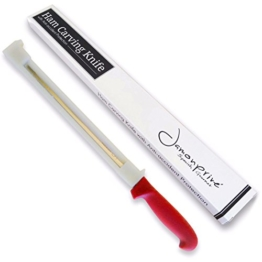 Schinkenmesser mit Schutzvorrichtung für Rechts- und Linkshänder Jamonprive -