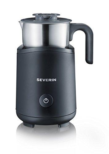 Severin SM 9495 Milchaufschäumer (500 Watt, Induktion, 180 ml, abnehmbar) Edelstahl/schwarz -