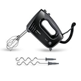 Siemens MQ96500 FQ.1 Handrührer Ergonomic Edition (500 Watt) schwarz/grau -