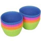 Silikon Backförmchen - Muffinform - Cupcake - 24er Pack - The New York Baking Company - Qualitätsprodukt -