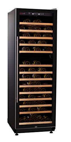SWISSCAVE 2-Zonen Weinklimaschrank f. 210 Fl. / Inkl. Lieferung auf Stockwerk (D) / Weinkühlschrank mit Winterheizfunktion -