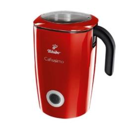 Tchibo Cafissimo Induktions-Milchaufschäumer, 500 ml in Rot -