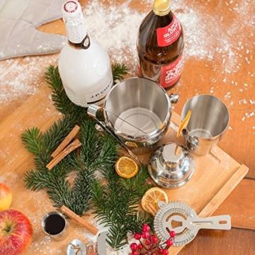 TecTake® Cocktailshaker Cocktail Set 8-teilig Shaker Bar Mixer -