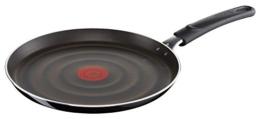 Tefal So Intensive D50310 Crêpepfanne, 25 cm, antihaftversiegelt, schwarz/metallic -