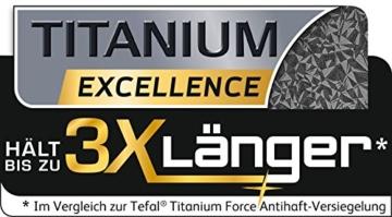 Tefal Talent Pro E44011 Crêpepfanne, 28 cm, induktionsgeeignet, antihaftversiegelt, schwarz -