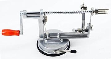 timtina® Profi Apfelschneider Spiralschneider Apfelschäler -