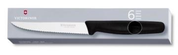 Victorinox Küchenbesteck 6-er Pack Steakmesser Spitz, 5.1233 -