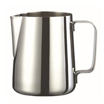 VORCOOL Milchkännchen Aufschäumkännchen Edelstahl 350ml (Silber) -