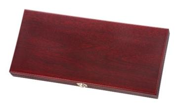 Wakoli 3er Damastmesser Set in Holzbox - VG-10, Edib -
